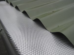 Install Aluminium Gutter Mesh Guard Gumleaf Metal Gutter