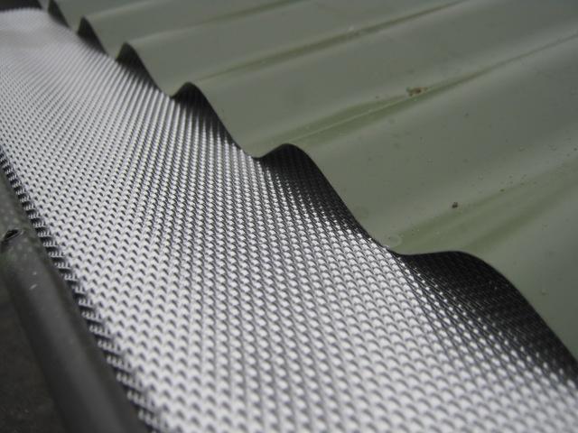 corrugated roofs GumLeaf's Aluminium Gutter Guard